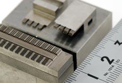 放電加工用電極の写真1